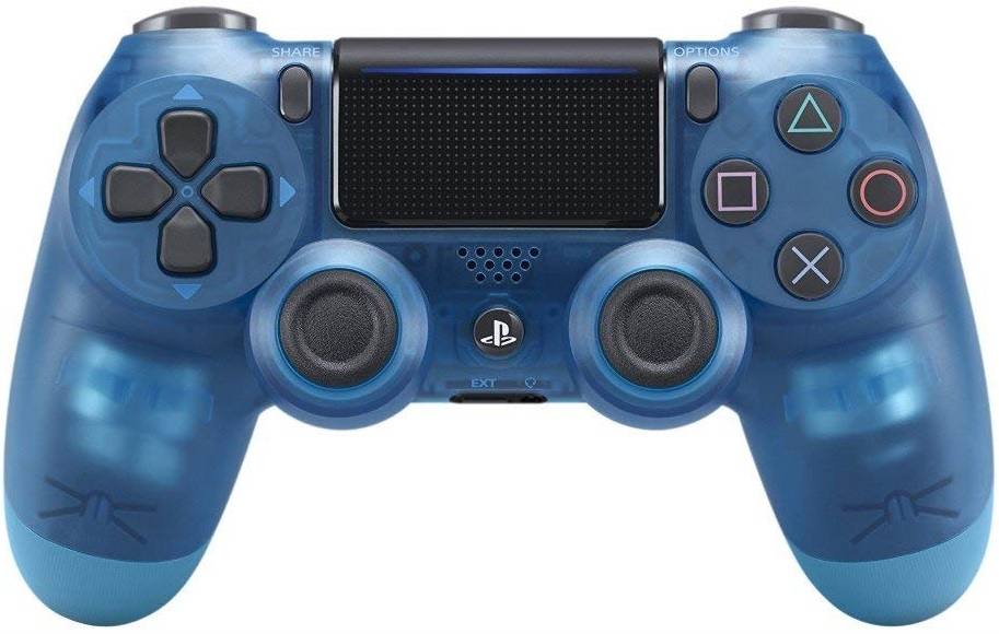 Sony Playstation 4 Dualshock 4 Controller Blue Crystal - PlayStation 4 Kiegészítők