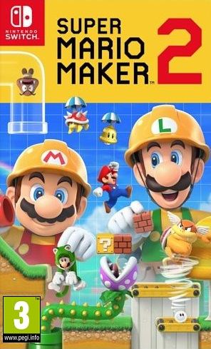 Super Mario Maker 2 - Nintendo Switch Játékok