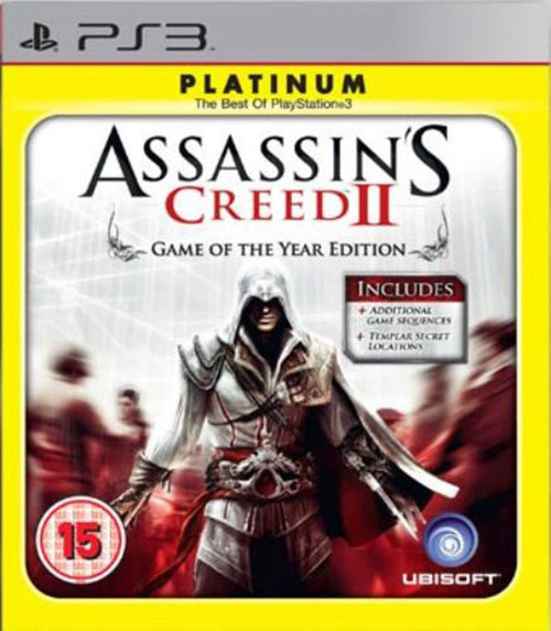 Assassins Creed II Game of The Year Edition - PlayStation 3 Játékok
