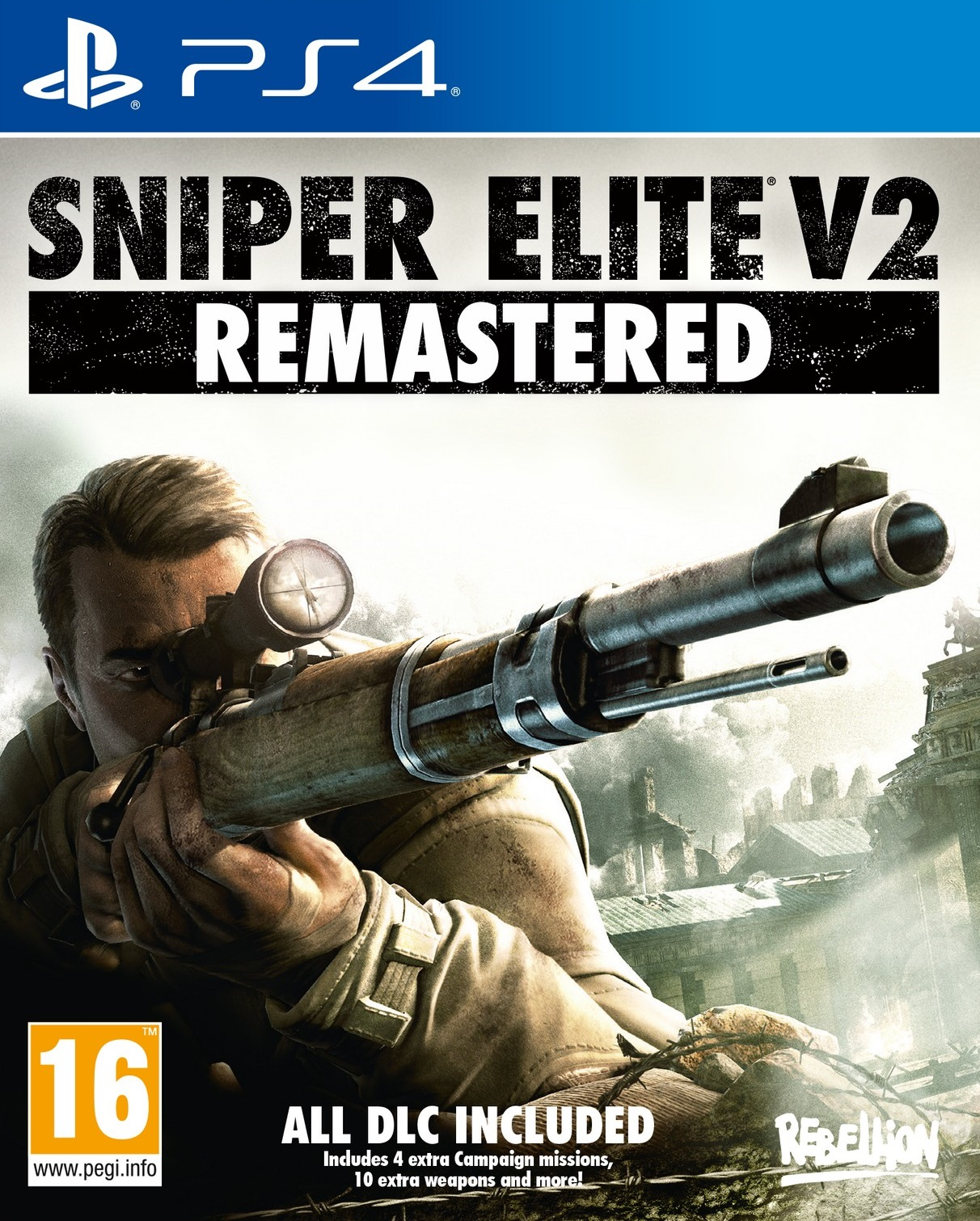 Sniper Elite V2 Remastered - PlayStation 4 Játékok