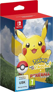 Pokémon Lets Go Pikachu+Pokéball Plus Edition