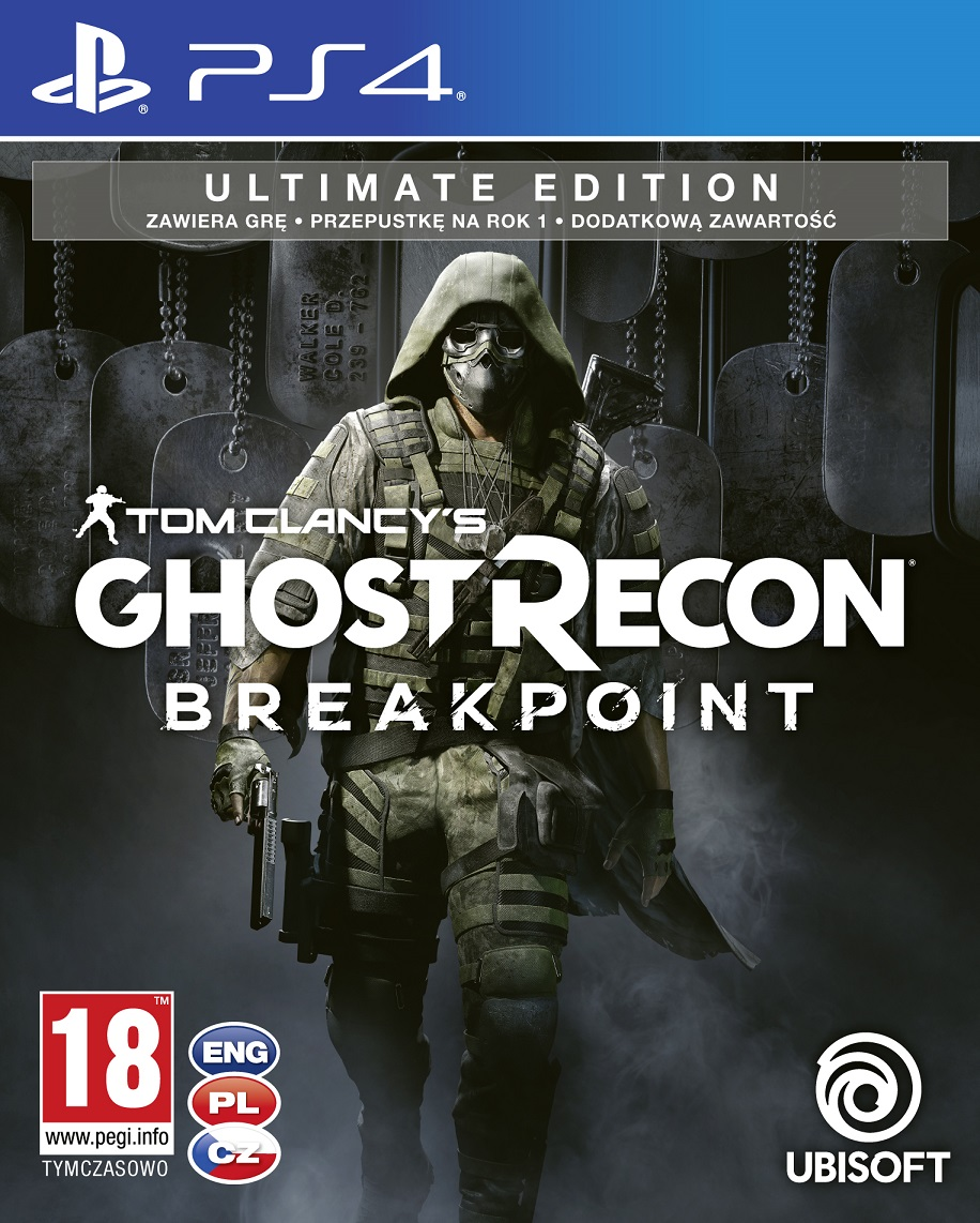 Tom Clancys Ghost Recon: Breakpoint Ultimate Edition - PlayStation 4 Játékok