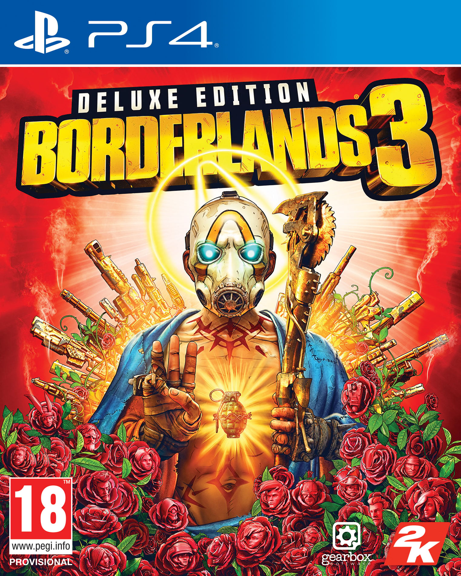 Borderlands 3 Deluxe Edition - PlayStation 4 Játékok