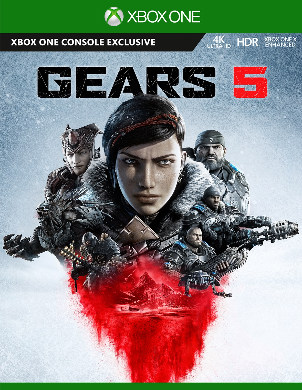 Gears 5 (Gears of War 5) - Xbox One Játékok