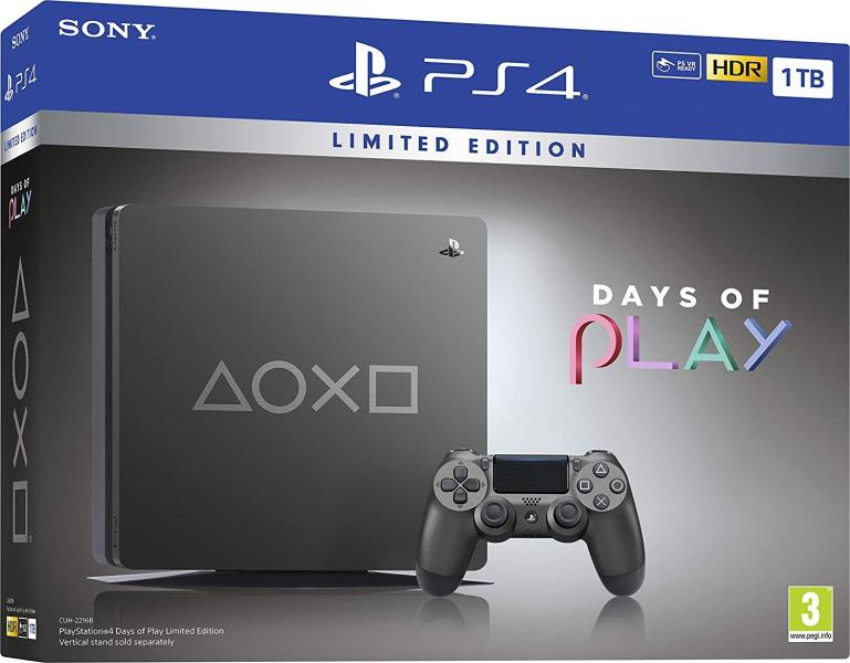 Sony Playstation 4 Slim 1TB Days of Play Limited Edition 2019