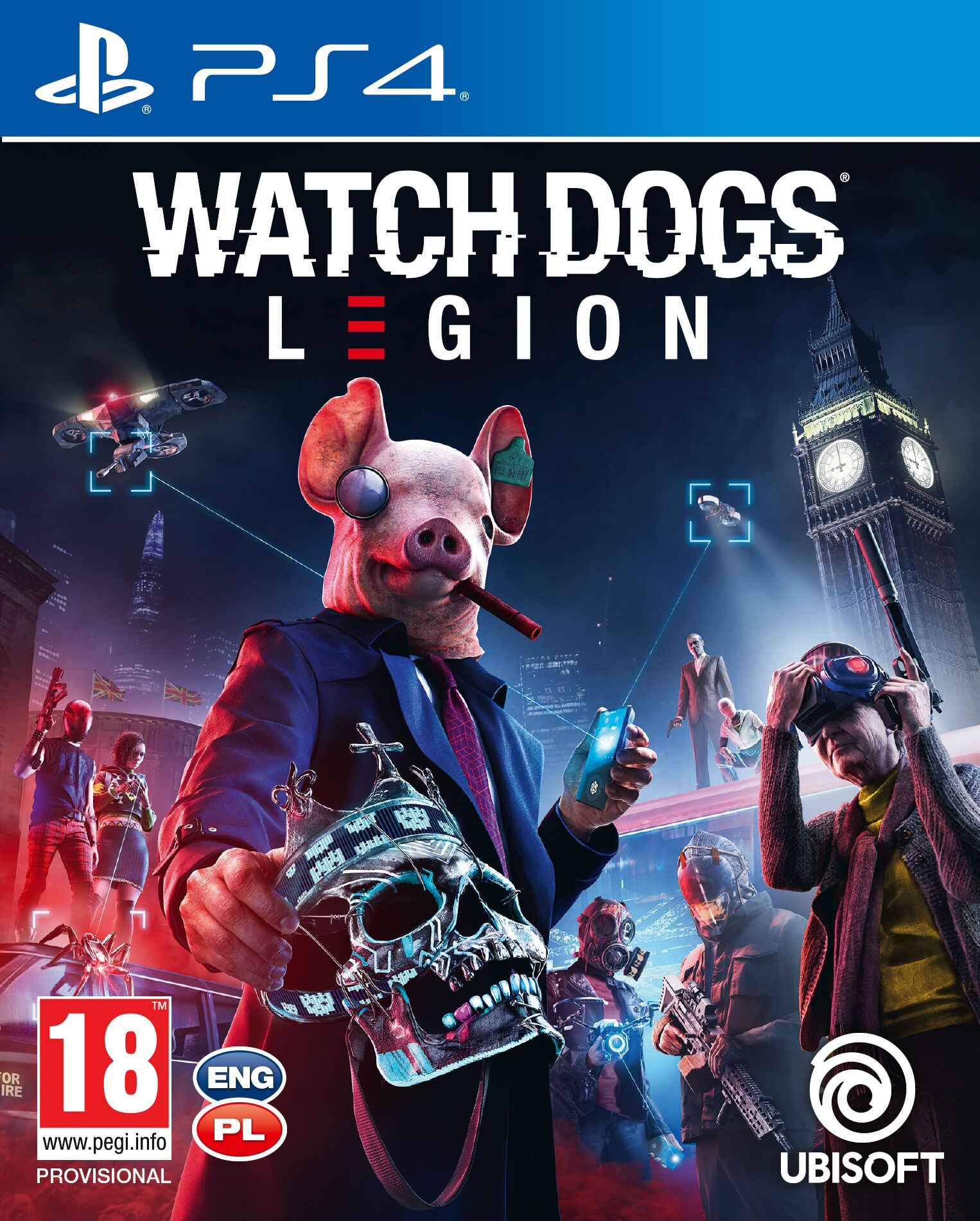 Watch Dogs Legion - PlayStation 4 Játékok