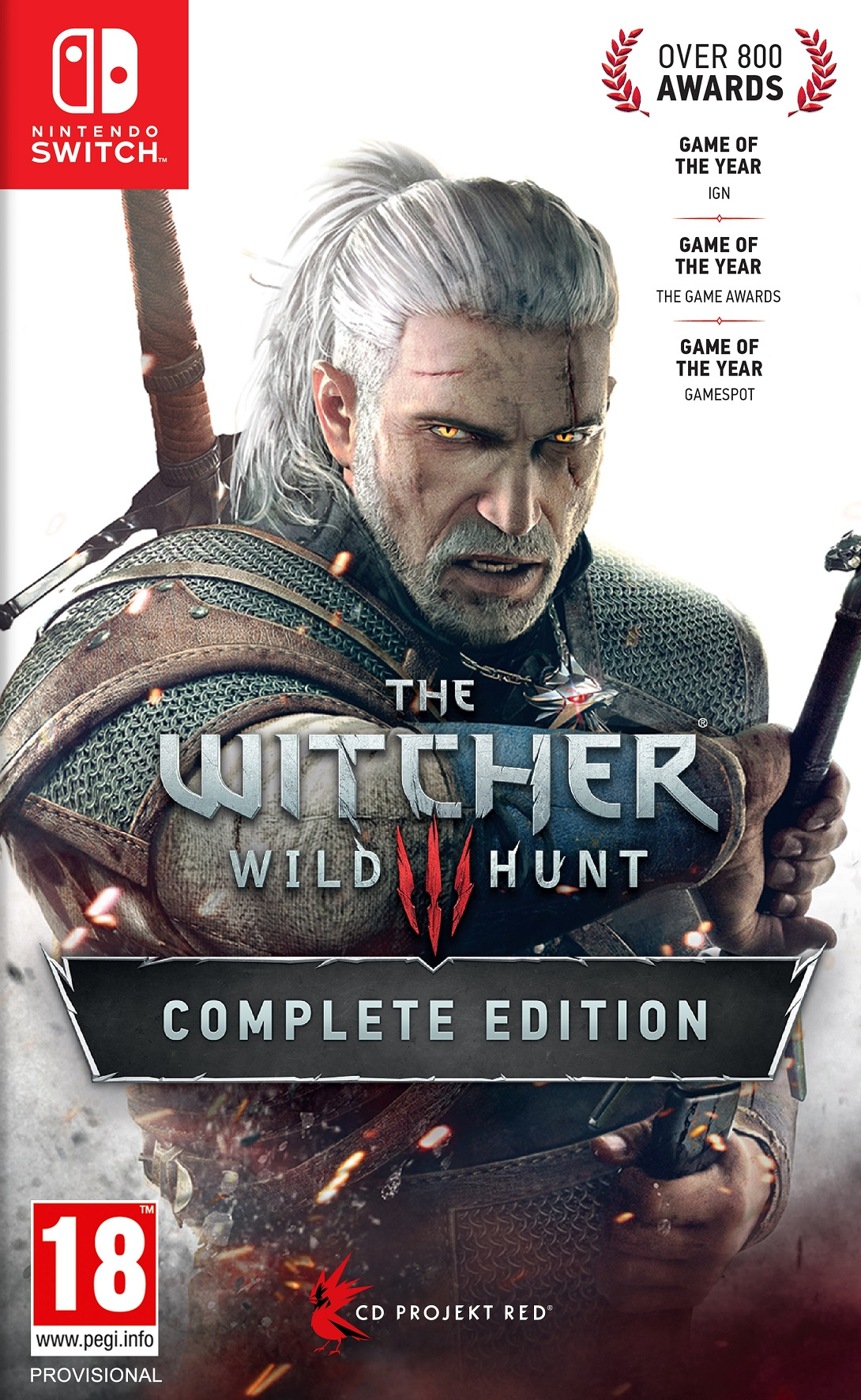 The Witcher 3 Wild Hunt Complete Edition (Magyar Felirattal)