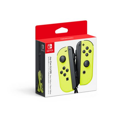 Nintendo Switch Joy-Con Pair Neon Yellow - Nintendo Switch Kiegészítők