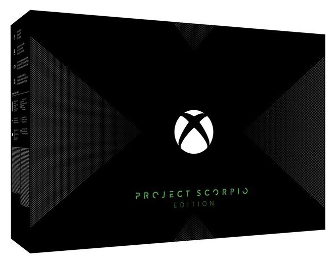 Microsoft Xbox One X 1TB Project Scorpio Edition