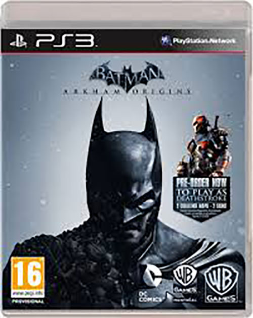 Batman Arkham Origins - PlayStation 3 Játékok