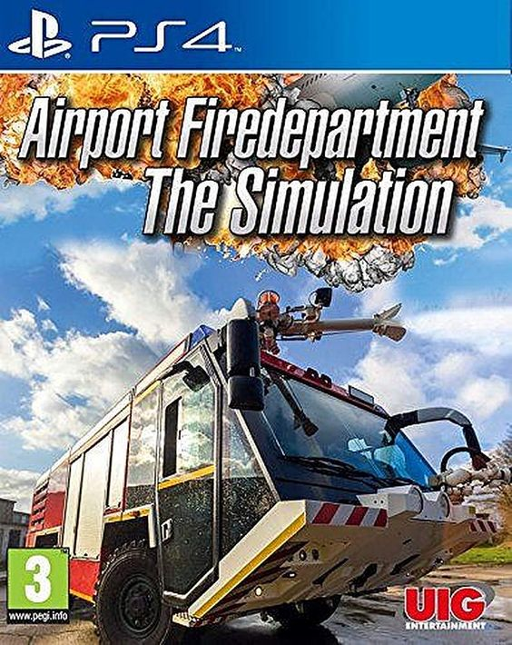 Airport Fire Department - The Simulation - PlayStation 4 Játékok