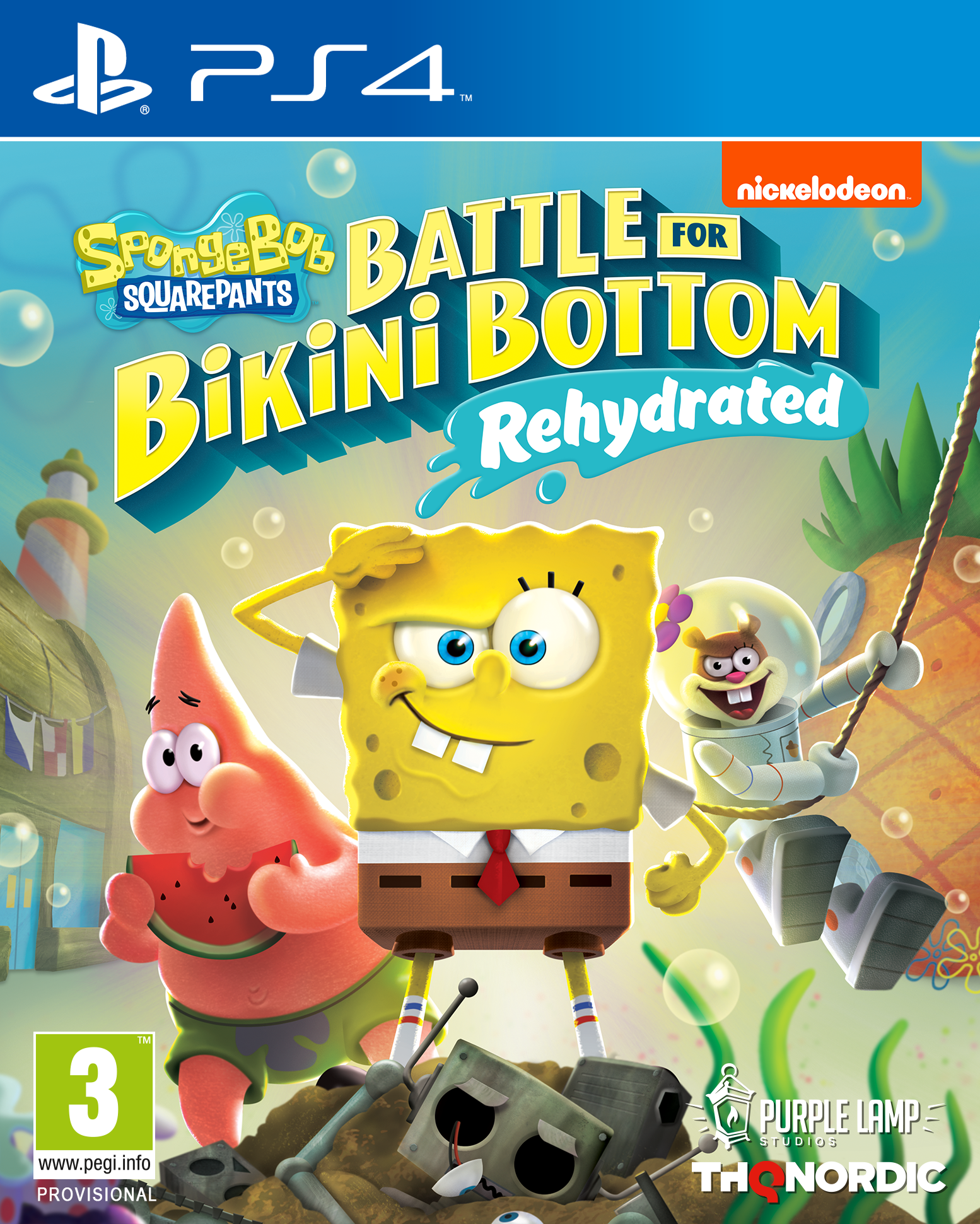 SpongeBob Squarepants: Battle for Bikini Bottom – Rehydrated - PlayStation 4 Játékok