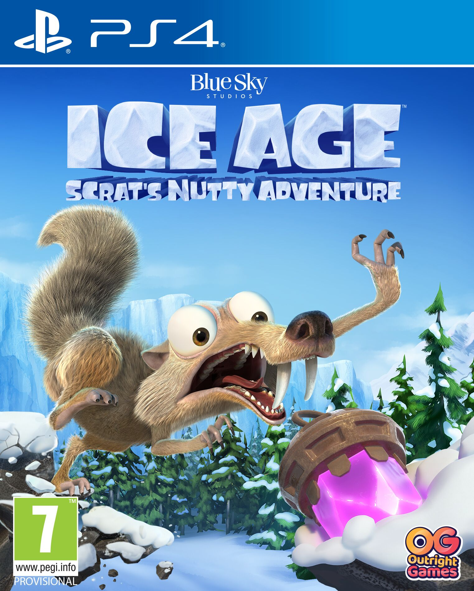 Ice Age: Scrats Nutty Adventure  - PlayStation 4 Játékok