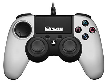 @Play Officially Licensed PS4 Wired Controller - Fehér