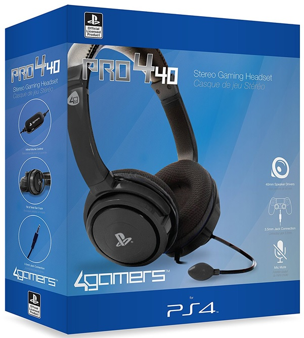 STEALTH PRO4-40 Stereo Gaming Headset (PS4)