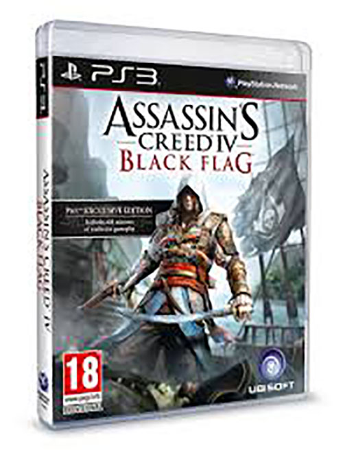 Assassins Creed IV Black Flag - PlayStation 3 Játékok