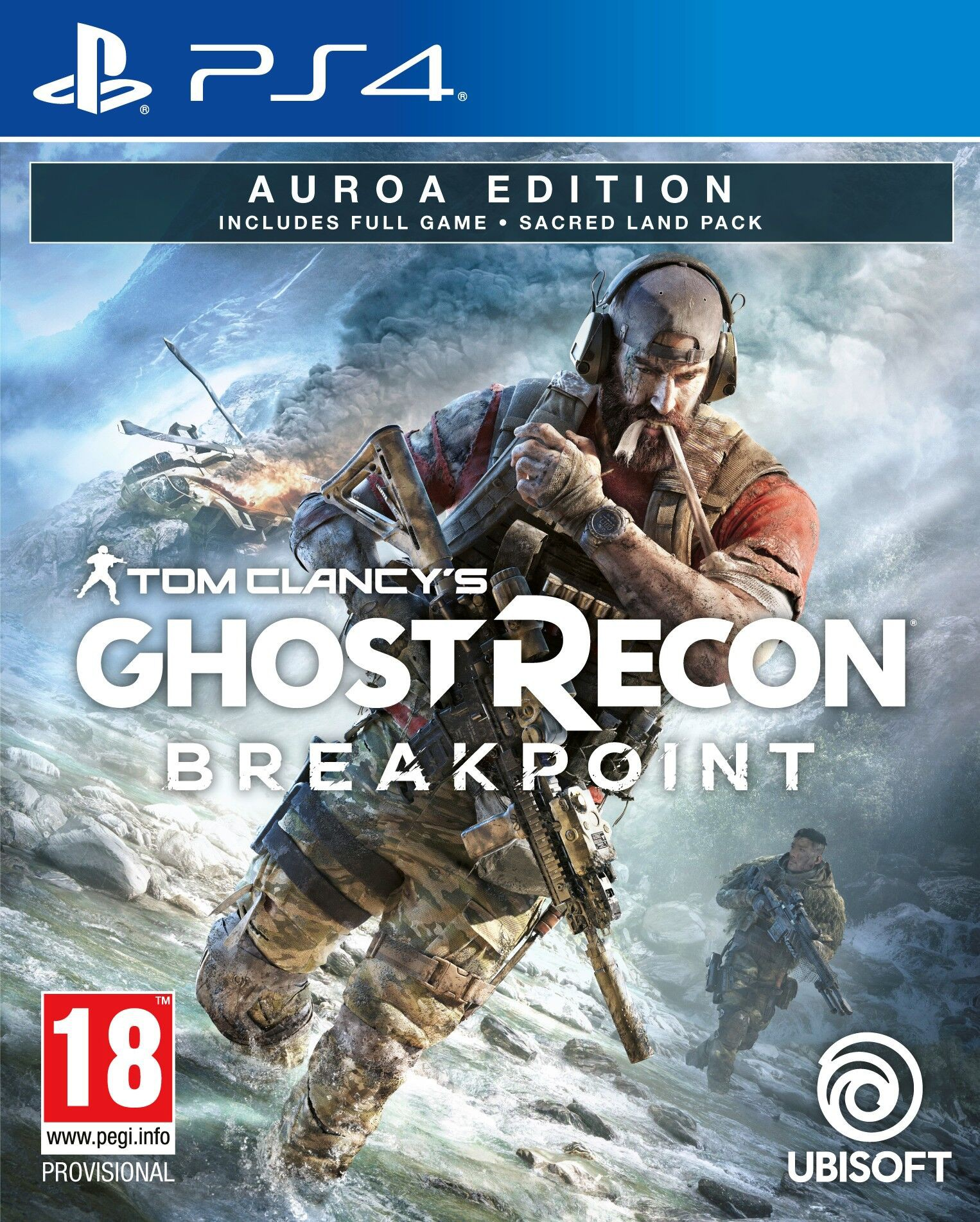 Tom Clancys Ghost Recon Breakpoint: Auroa Edition - PlayStation 4 Játékok