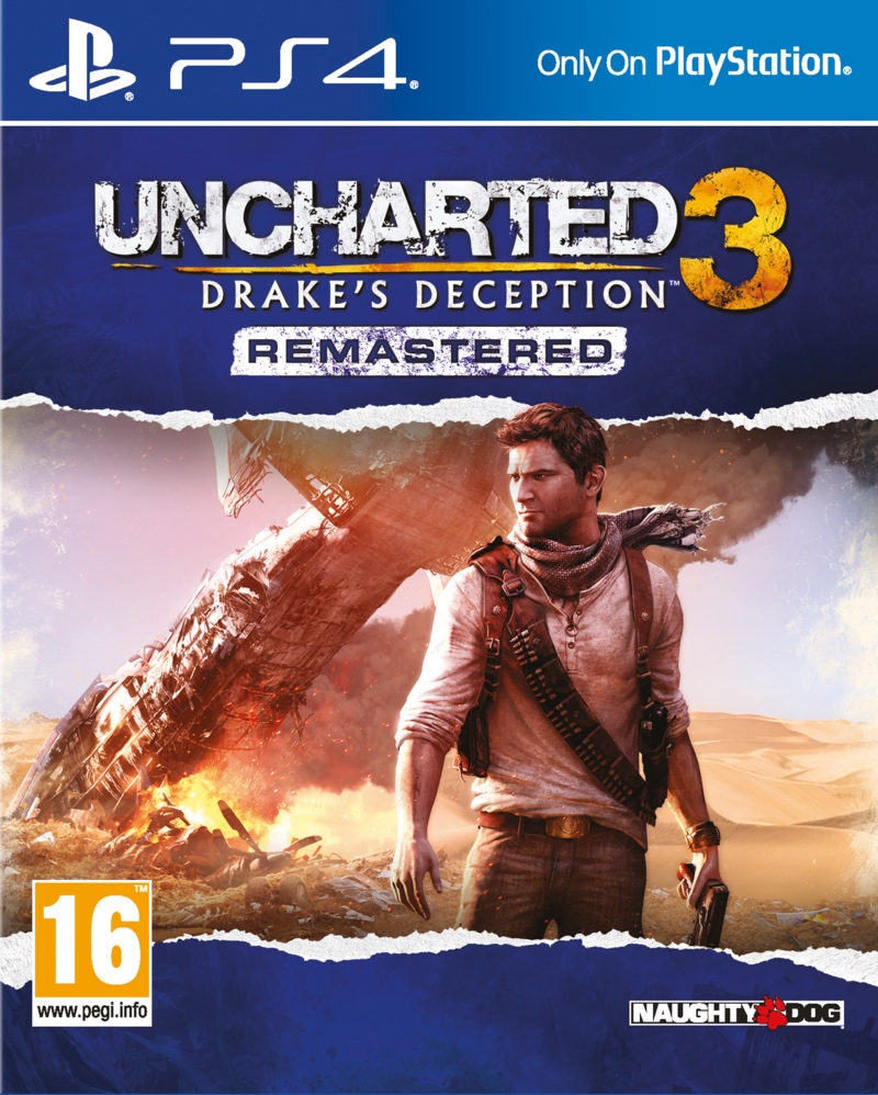 Uncharted 3: Drakes Deception Remastered