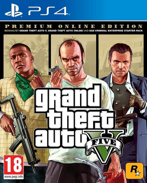 Grand Theft Auto V Premium Edition (GTA 5) - PlayStation 4 Játékok