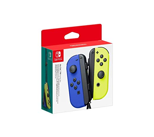 Nintendo Switch Joy-Con Pair Blue/Neon Yellow