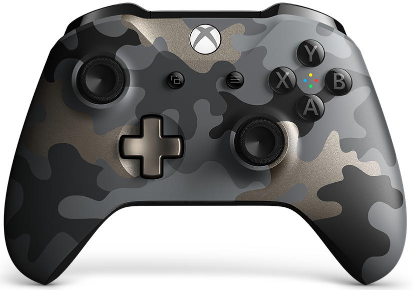 Microsoft Xbox One Wireless Controller Night Ops Camo Special Edition