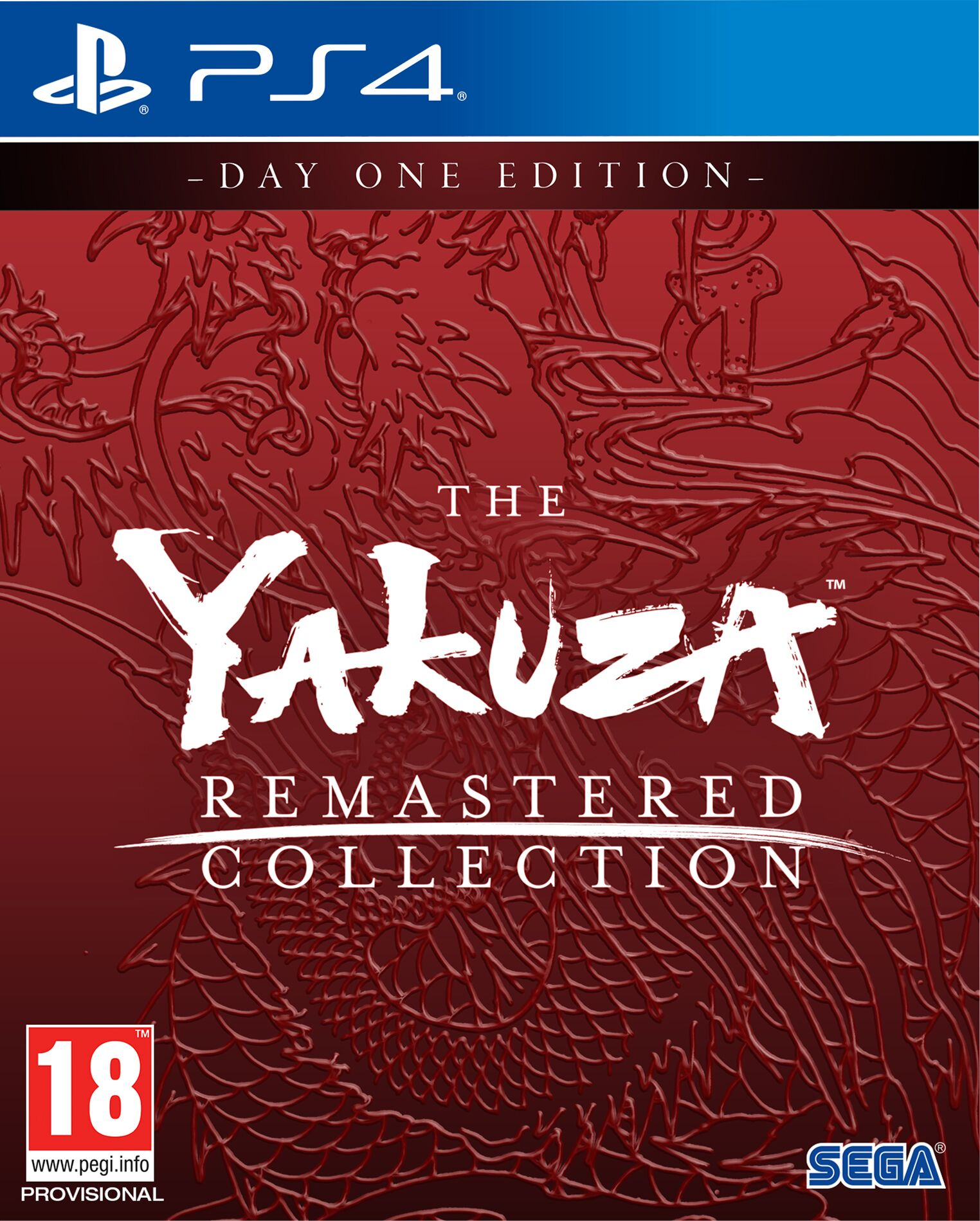 The Yakuza Remastered Collection: Day One Edition