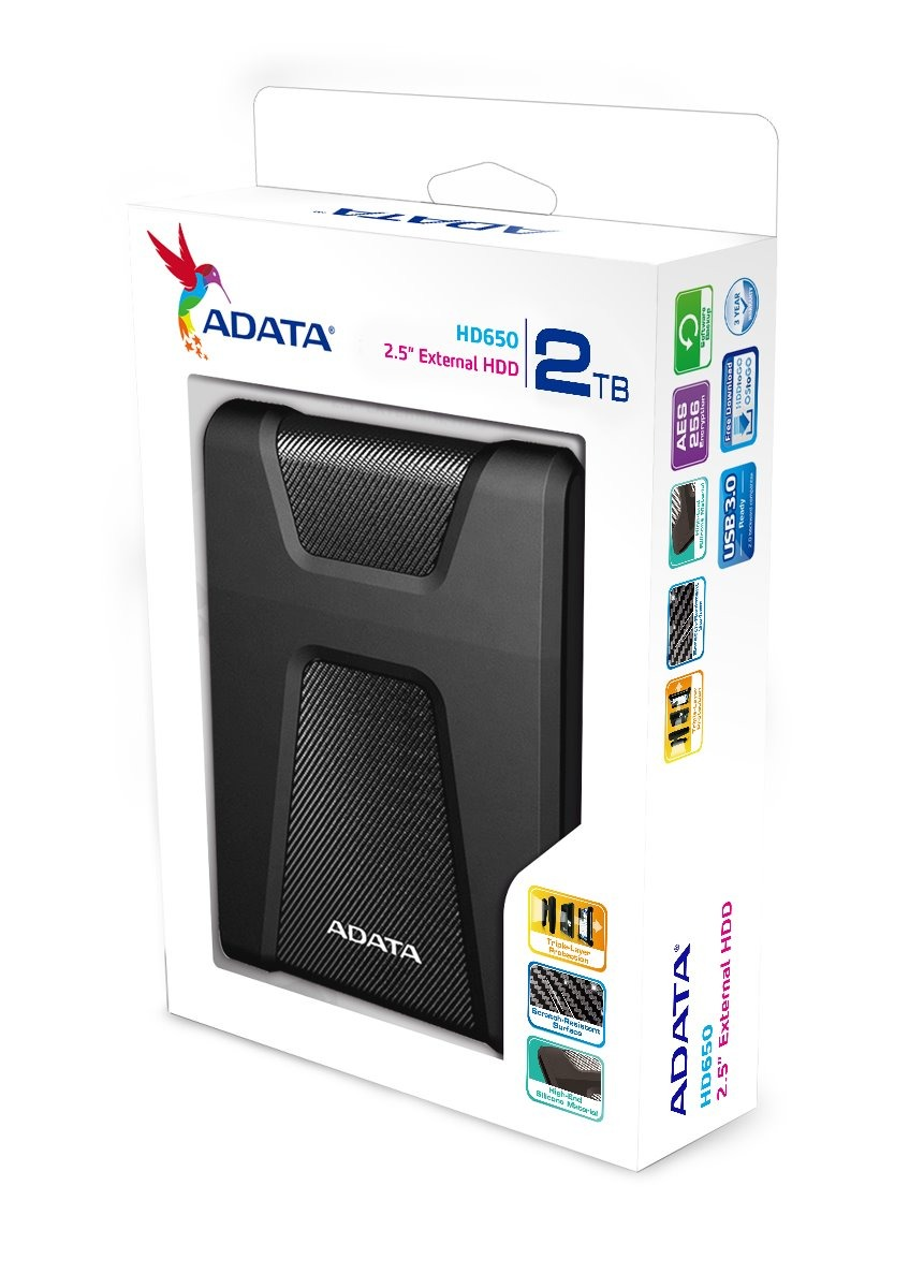 Adata HD650 2.5 External HDD USB 2.0TB
