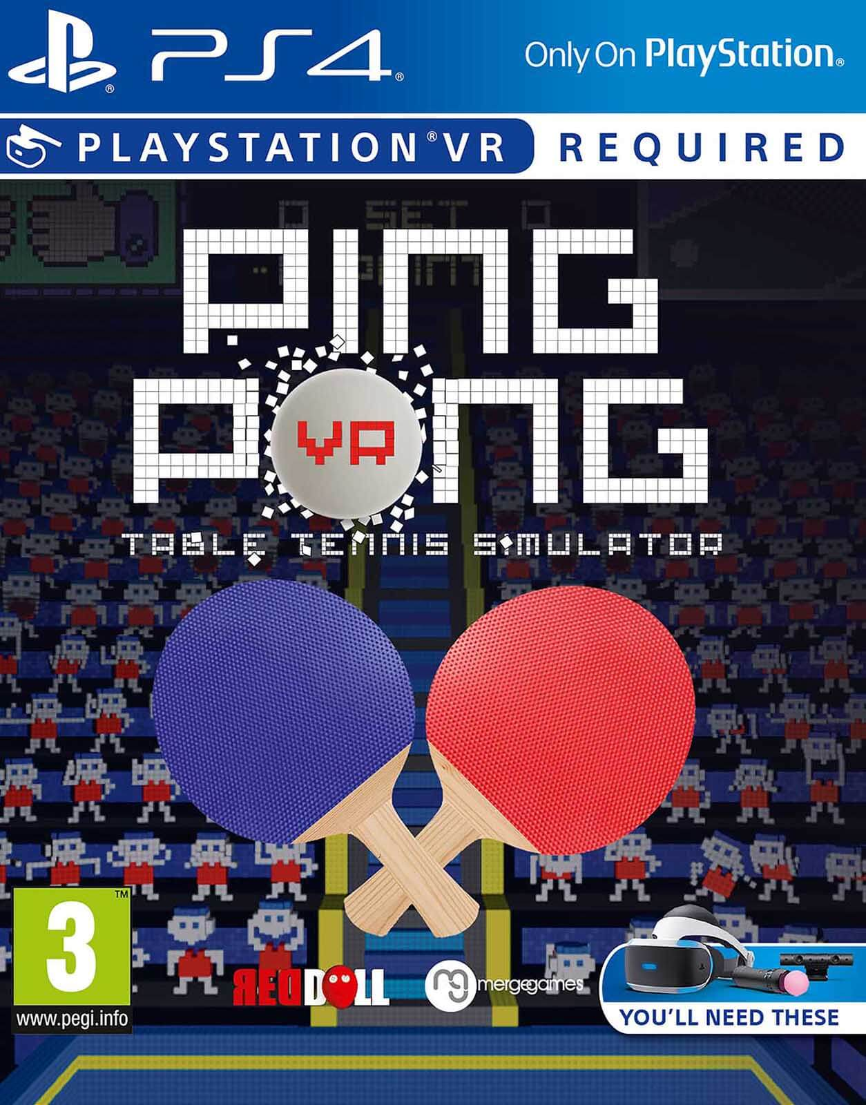 Ping Pong VR Table Tennis Simulator