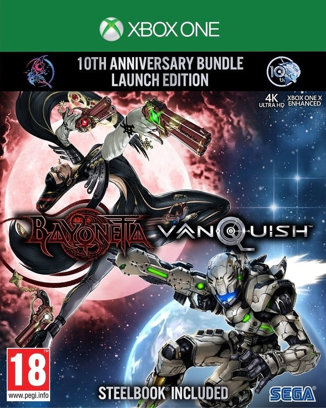 Bayonetta and Vanquish 10th Anniversary Bundle Launch Edition