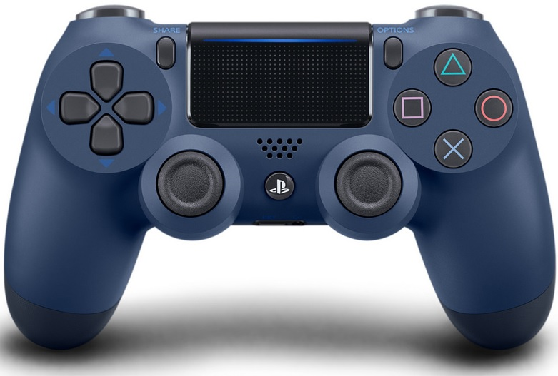 Sony Playstation 4 Dualshock 4 Controller Midnight Blue