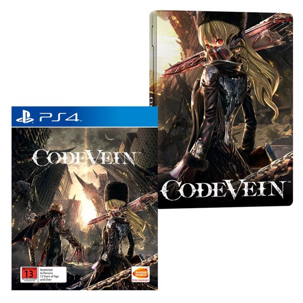 Code Vein Day One Edition + Steelbook