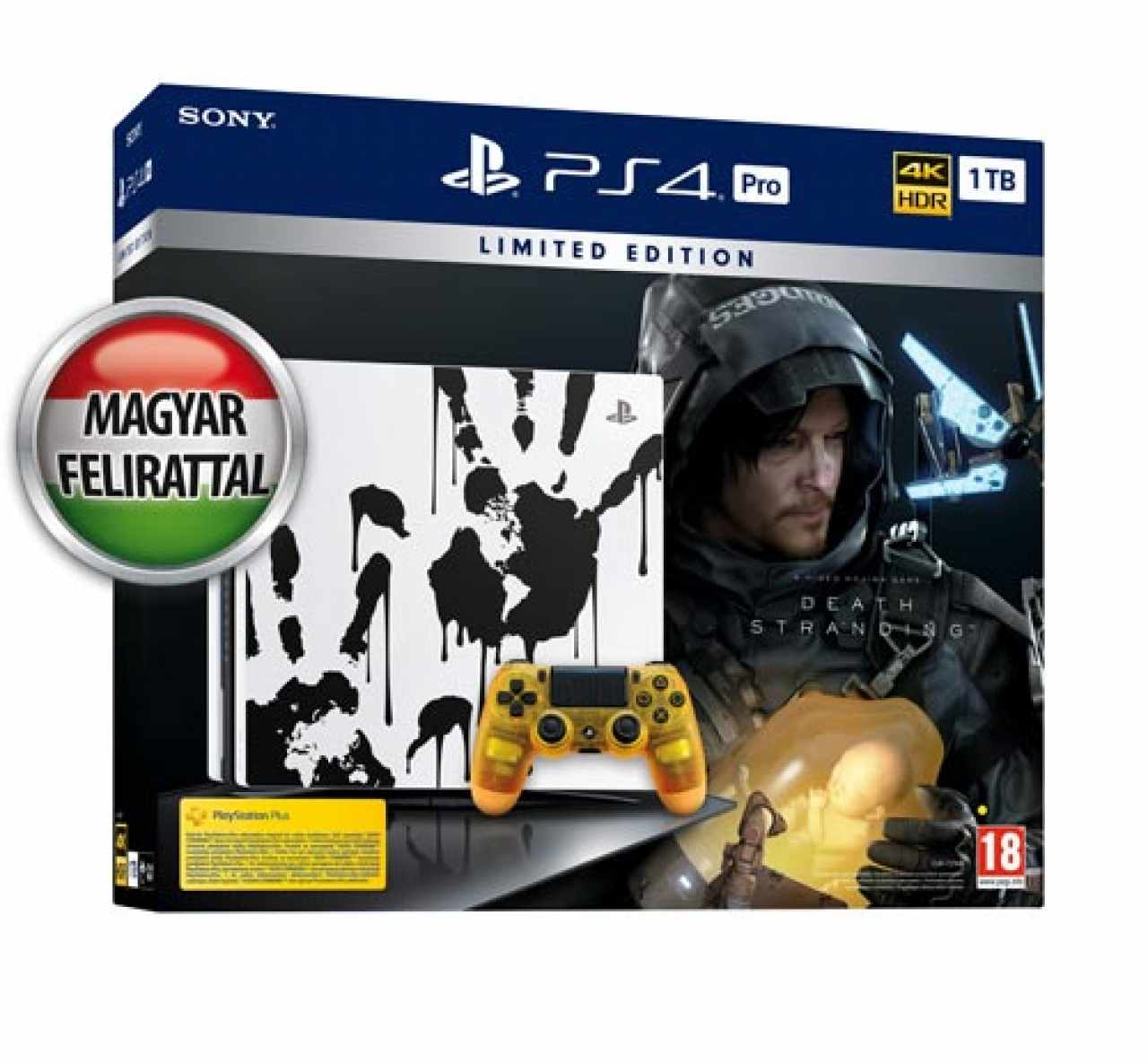 Sony Playstation 4 Pro 1TB SSD Death Stranding Limited Edition