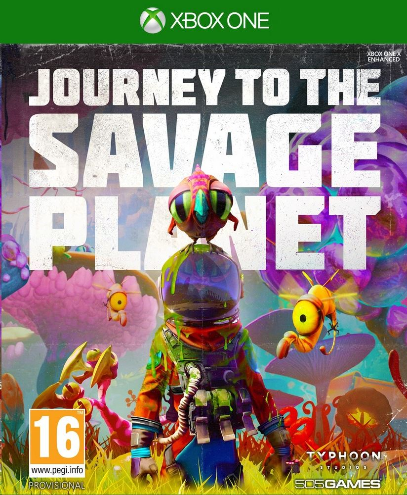 Journey to the Savage Planet - Xbox One Játékok