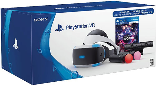 Sony Playstation 4 Virtual Reality VR Headset (ZVR2)+ Move Motion Controllers 2db + Kamera V2