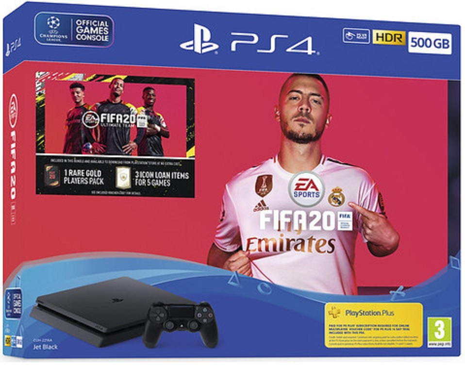 Sony Playstation 4 Slim 500GB + FIFA 20