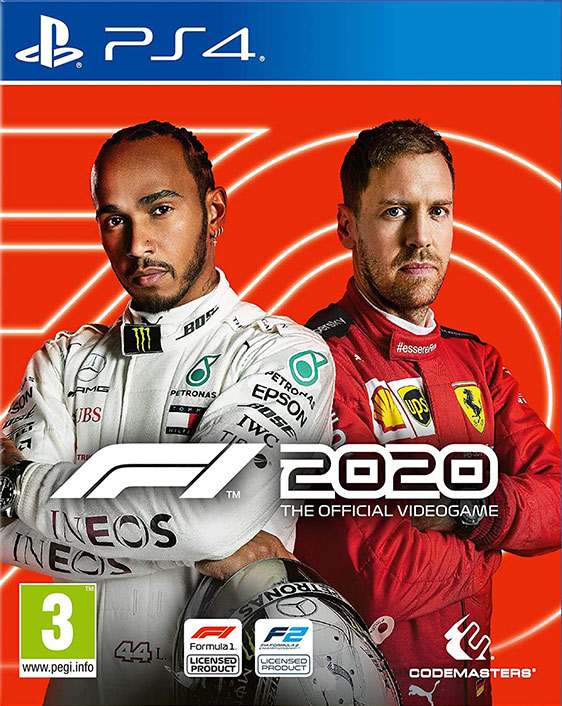 F1 2020 Seventy Edition - PlayStation 4 Játékok