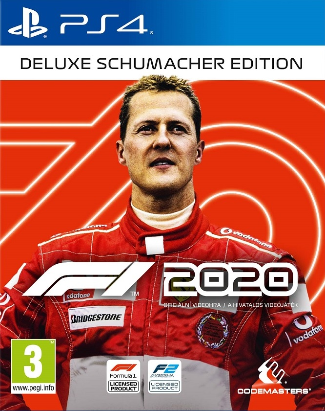 F1 2020 Deluxe Schumacher Edition - PlayStation 4 Játékok