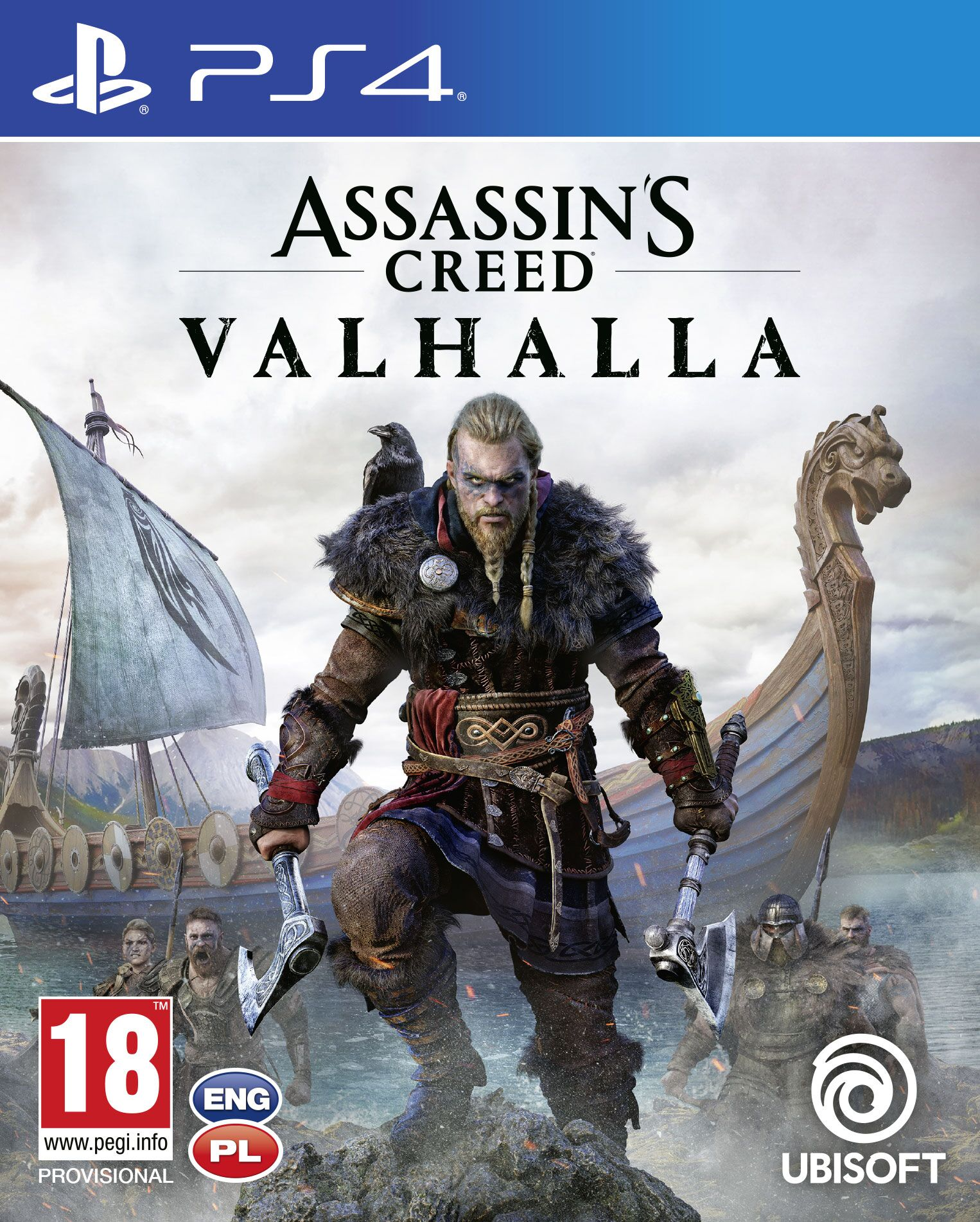 Assassins Creed Valhalla - PlayStation 4 Játékok