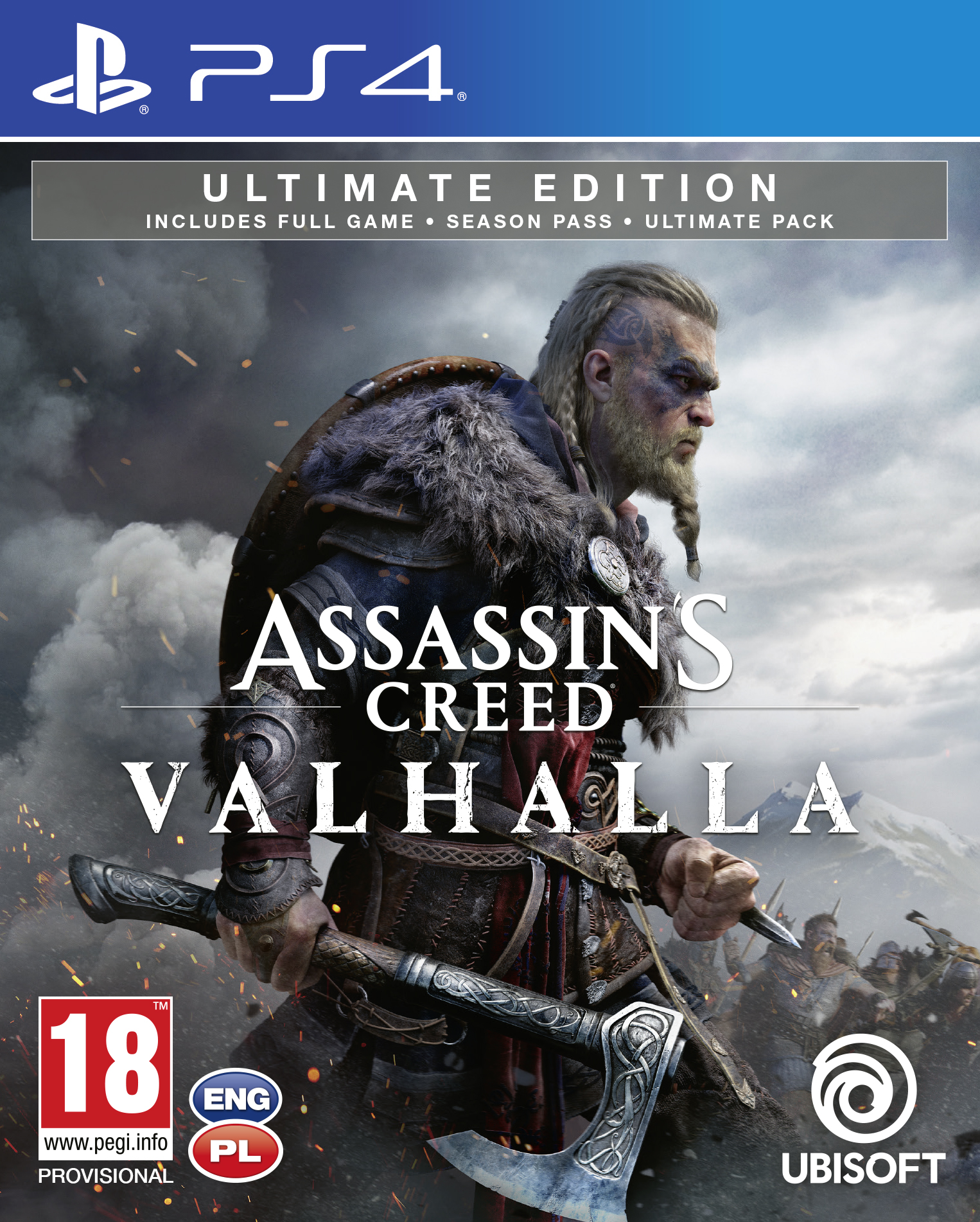 Assassins Creed Valhalla Ultimate Edition - PlayStation 4 Játékok