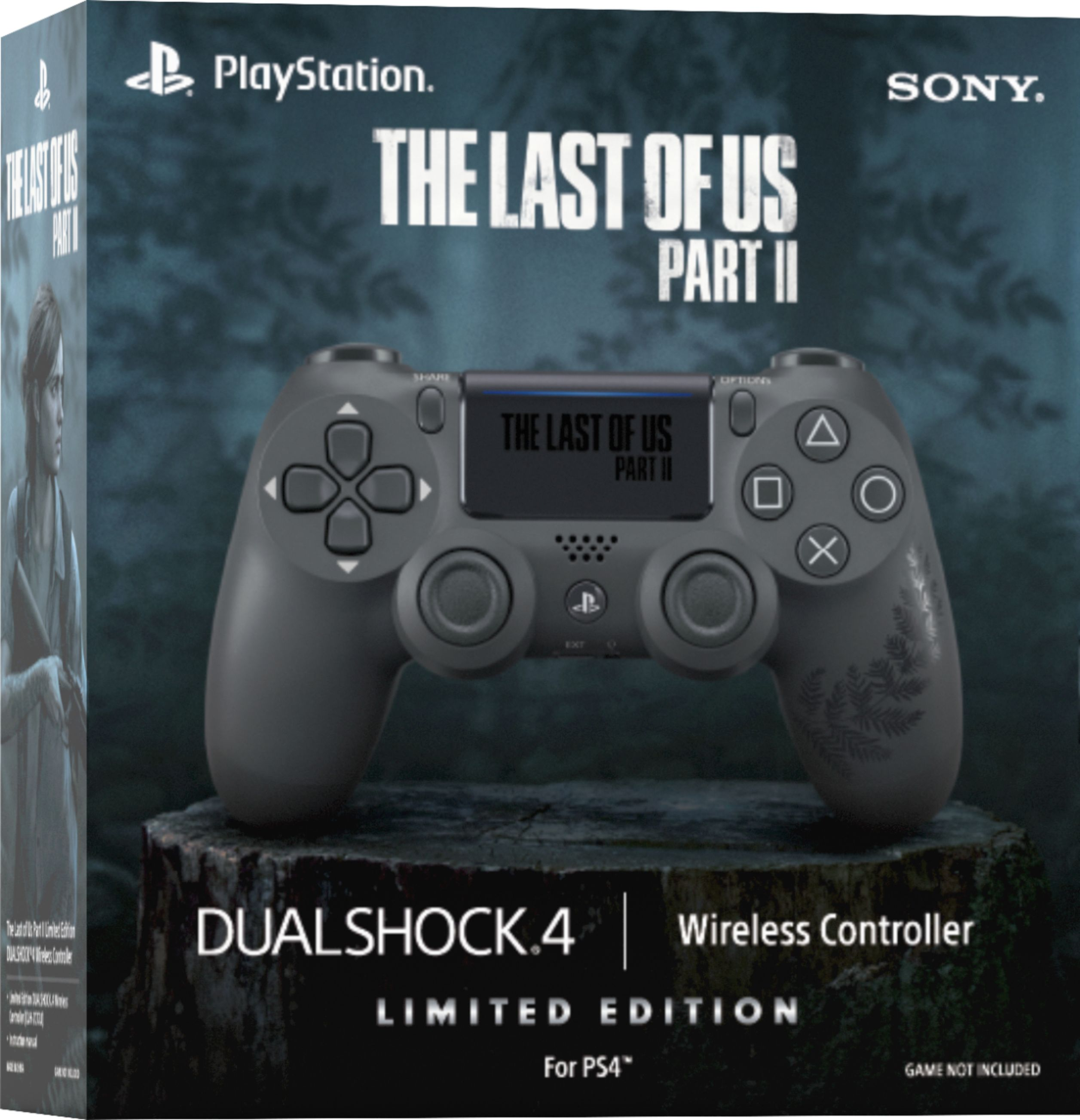 Sony Playstation 4 Dualshock 4 kontroller The Last of Us Part II Limited Edition