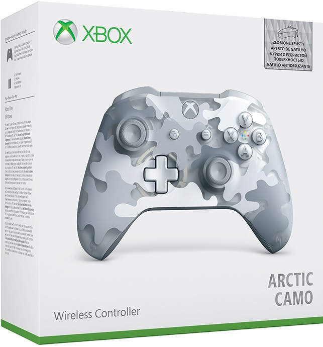 Microsoft Xbox One Wireless Controller Arctic Camo Special Edition