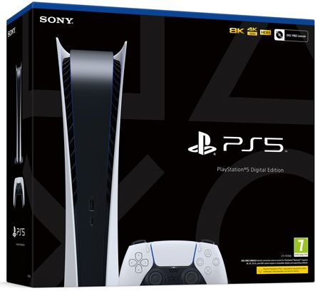 Sony Playstation 5 Digital Edition (PS5)