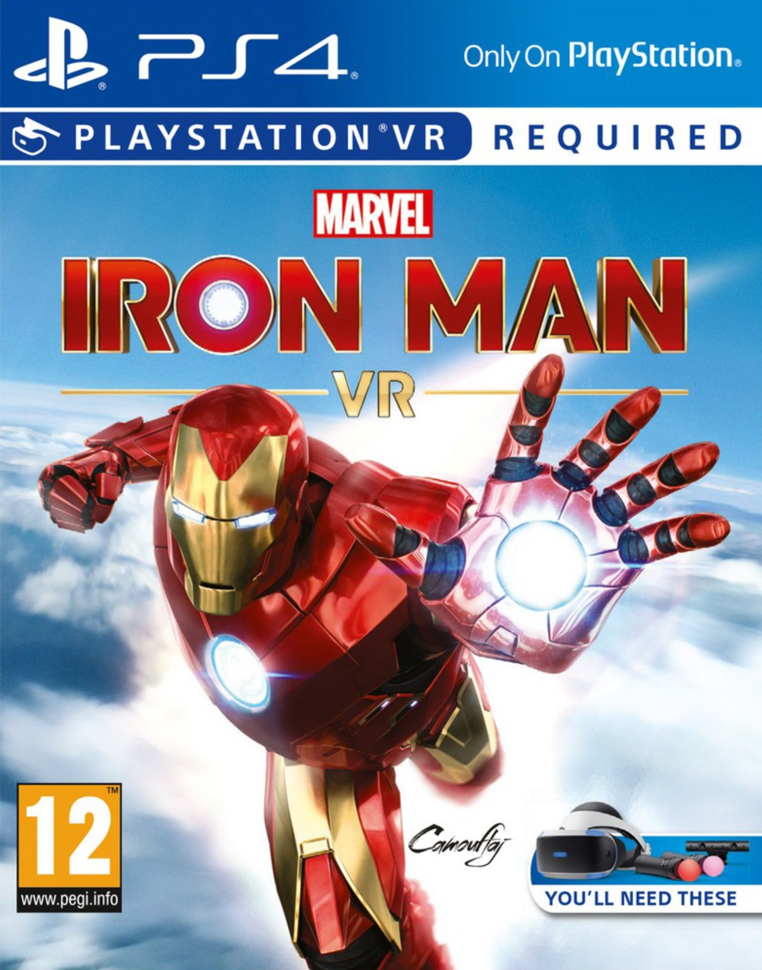 Marvels Iron Man VR - PlayStation 4 VR