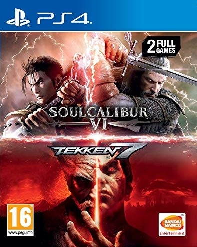 Tekken 7 and SoulCalibur VI Bundle (2 full games)
