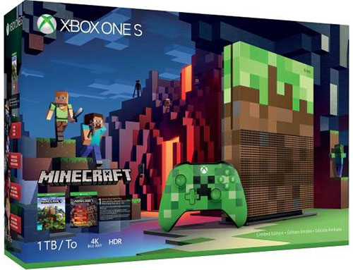 Microsoft Xbox One S 1TB Minecraft Limited Bundle