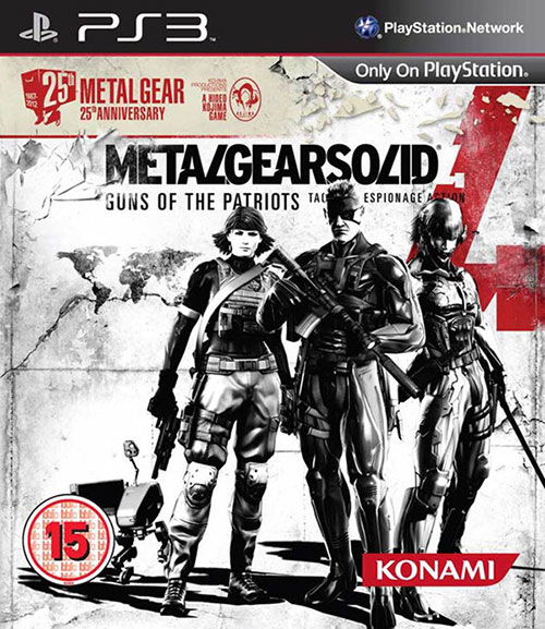 Metal Gear Solid 4 25th Anniversary Edition