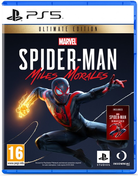 Marvels Spider-Man Miles Morales Ultimate Edition - PlayStation 5 Játékok