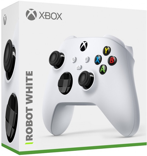 Microsoft Xbox Wireless Controller (Robot White)