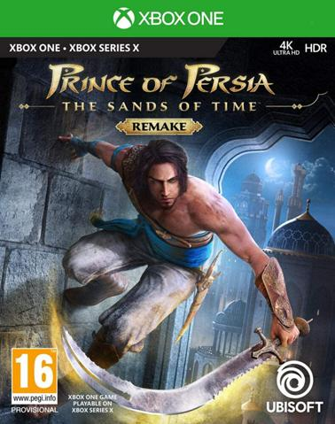 Prince of Persia: The Sands of Time Remake - Xbox One Játékok