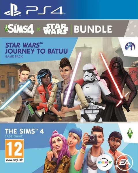 The Sims 4 + Star Wars Journey to Batuu Bundle